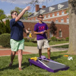 Students on Winchester Center Lawn